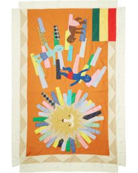 Junya Watanabe | Multicolor Graphic Patchwork Scarf | Lyst