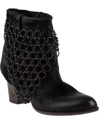 275 Central Elkan Ankle Boot Black Leather - Lyst