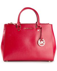 Michael Kors R Sutton Satchel - Lyst
