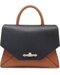 Givenchy Obsedia Small Tophandle Flap Bag - Lyst