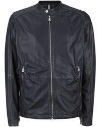 Bogner Leather Jacket - Lyst