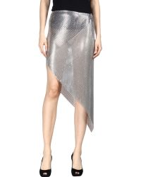 Paco Rabanne | 3/4 Length Skirt | Lyst