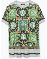 Zara Short Sleeve T-Shirt - Lyst