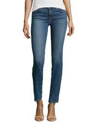 J Brand Midrise Skinny Jeans - Lyst