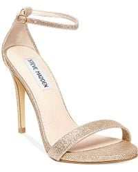 Steve Madden Womens Stecy Two-piece Sandals - Lyst