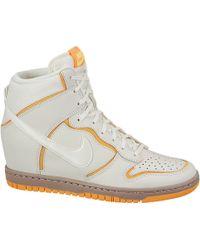 e33b83ca4127 Nike - Dunk Sky Hi Atomic Mango - Lyst