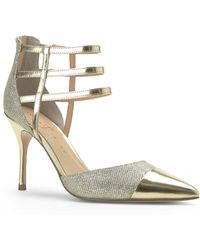 Ivanka Trump Gold Dream Glitter Pumps - Lyst
