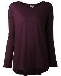 Splendid Long Sleeved Shirt - Lyst