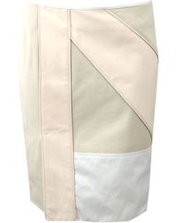Reed Krakoff Patchwork Pencil Skirt - Lyst