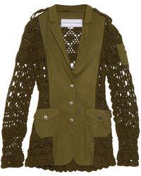 Michaela Buerger - Miss Sahara Crochet-Panel Jacket - Lyst