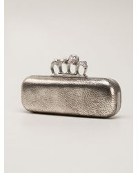 Alexander McQueen Knucklebox Clutch - Lyst