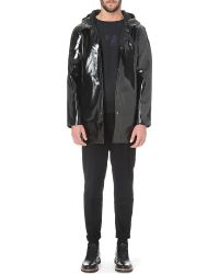 Stutterheim Stockholm Opal Waterproof Raincoat - Lyst