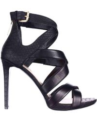 Guess | Abby Strappy Heels Dress Sandals | Lyst