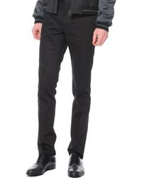 Lanvin Techno-stretch Skinny Pants - Lyst