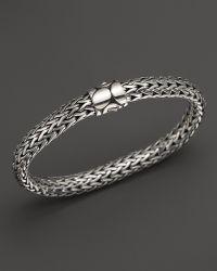 John Hardy Women'S Sterling Silver Kali Medium Bracelet - Lyst