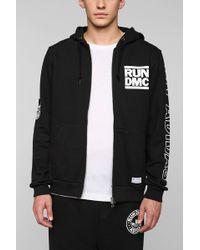 Adidas X Rundmc Zipup Hoodie Sweatshirt - Lyst