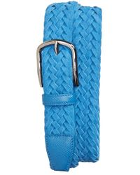 Tod's Men'S Braided Leather Belt - Lyst