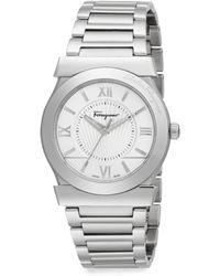 Ferragamo Vega Gent Stainless Steel Watch - Lyst