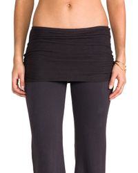 Nightcap   Foldover Pant in Charcoal   Lyst