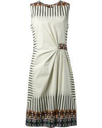Etro Tribal Print Dress - Lyst
