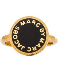 Marc By Marc Jacobs New Classic Marc Starry Double Ring - Lyst