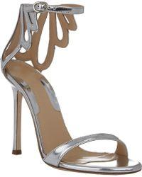 Chelsea Paris Silver Asha Sandals - Lyst