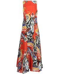 Etro Long Dress - Lyst