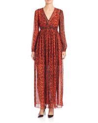 MICHAEL Michael Kors | High Woods Maxi Dress | Lyst