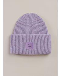 Acne Studios - Lavender Pansy Shet Hat - Lyst