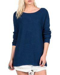 Volcom | 'take It On' Knit Sweater | Lyst