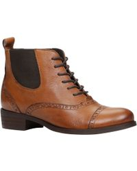 Aldo Halker Lace Up Ankle Boots - Lyst