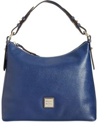 Dooney & Bourke Saffiano Hobo - Lyst