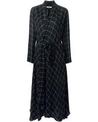 Spijkers En Spijkers - Checked Wrap Dress - Lyst