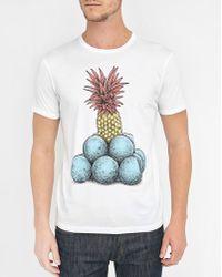 Commune De Paris 1871 | White Pineapple T-shirt | Lyst