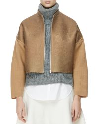 3.1 Phillip Lim Felted Wool Jacket - Lyst