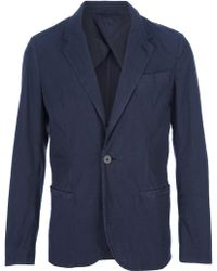 Lanvin Single Button Blazer - Lyst