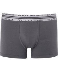 Dolce & Gabbana Cottonblend Jersey Boxer Briefs - Lyst