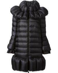 Moncler Flared Padded Jacket - Lyst