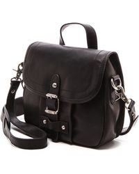 Frye Parker Cross Body Bag  Black - Lyst