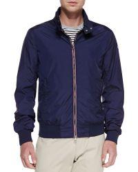Moncler Nylon Front-zip Jacket - Lyst