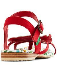 Miss L-fire - Tweet Of Foot Sandal in True Love - Lyst