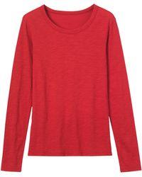 Toast - Fine Slubby Cotton T-shirt - Lyst