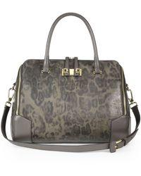 Furla Mediterranean Dome Leather Handbag - Lyst