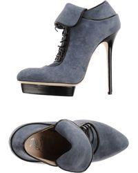 John Richmond Black Label - Lace-up Shoes - Lyst