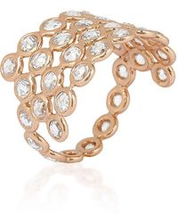 Lito - 18K Rose Gold Protection Ring - Lyst