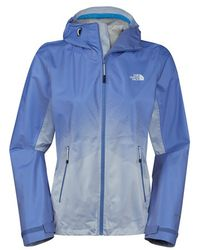 The North Face Women'S 'Fuseform Dot Matrix' Hooded Waterproof Jacket - Lyst