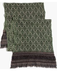 Madewell Felted Paisley Medallion Scarf - Lyst