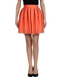 Manoush Mini Skirt - Lyst