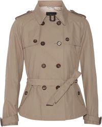 Day Birger Et Mikkelsen Palazzo Short Cotton-Blend Trench Jacket - Lyst