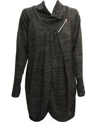 Feverfish - Asymmetric Zip Knitted Tunic - Lyst